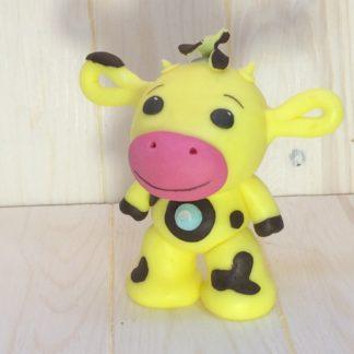 Жёлтая корова