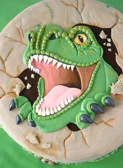 Барельеф динозавр